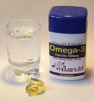 Omega Fish Oils, 30 Capsules
